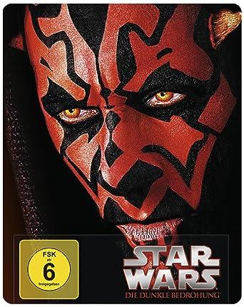 Star Wars Die Dunkle Bedrohung Steelbook Blu Ray Limited Edition