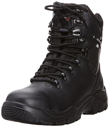 Dickies Quebec Unlined Boot Calzado de protección para hombre, Negro, 40 EU