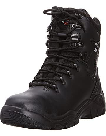 9a9aeeca43 Dickies Mens Workwear Quebec Lined Super Safety Boot Black FD23375B