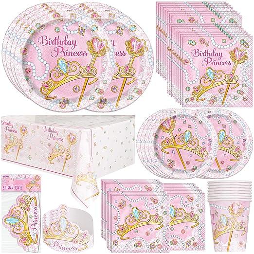 Princess Party Bundles for 8 Guests
