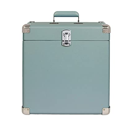 Crosley Record Carrier Case for 30+ Albums, Tourmaline ...