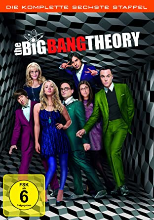 The Big Bang Theory - Die komplette sechste Staffel [Alemania] [DVD]