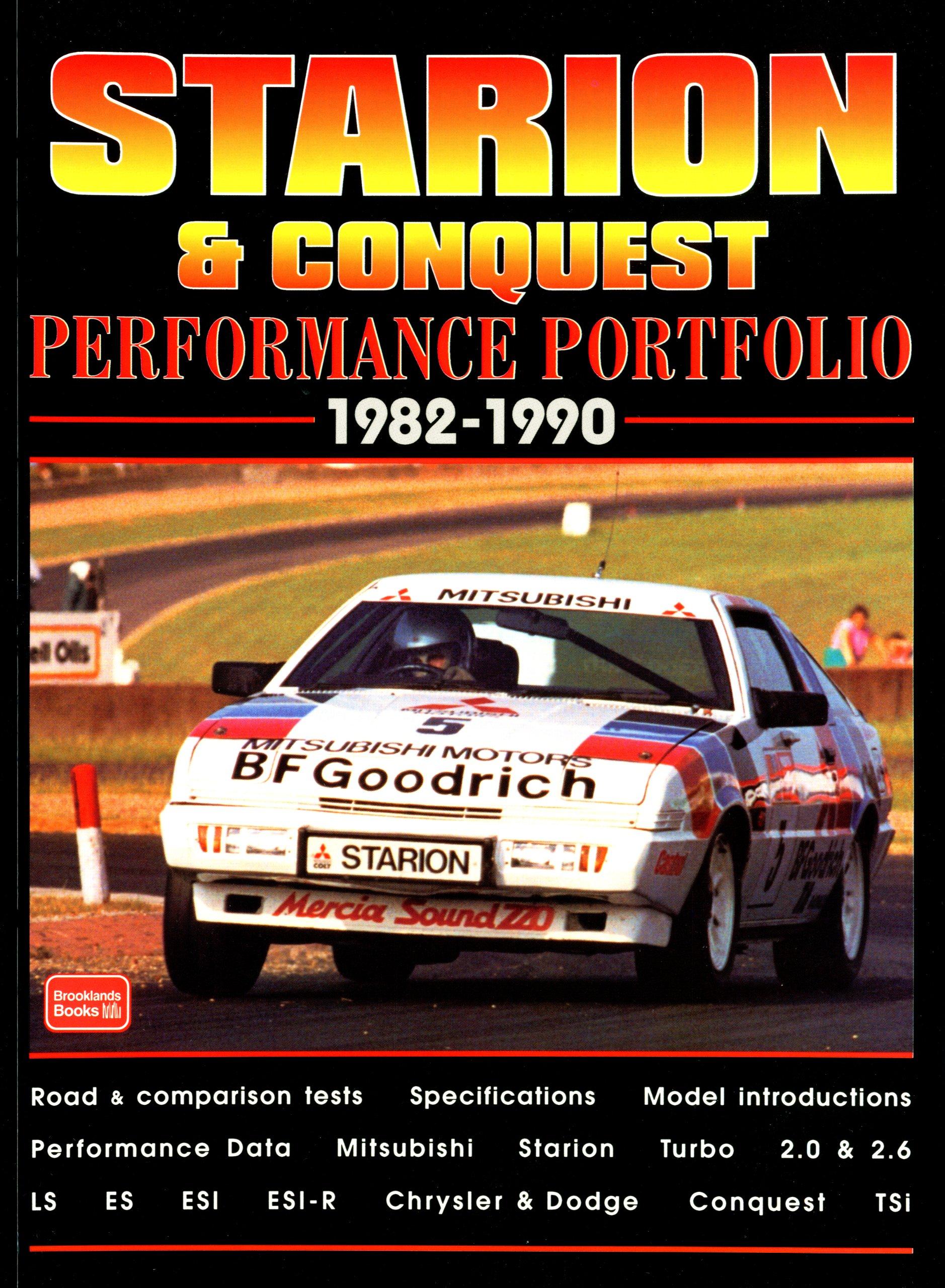Starion Conquest Performance Portfolio 1982 90 Rm Clarke Mitsubishi Dodge 9781855205710 Books