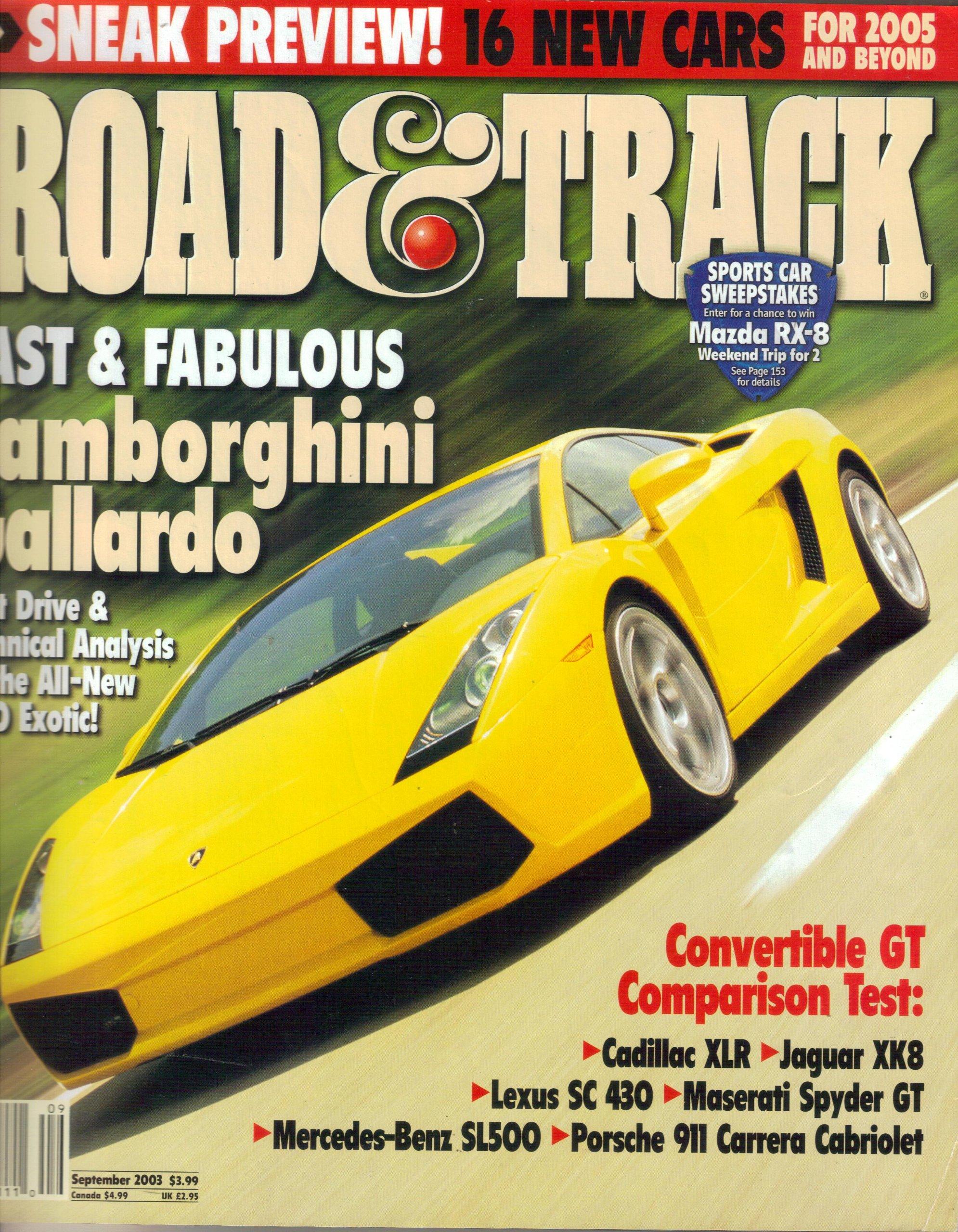 Download Road & Track magazine (September, 2003) ebook