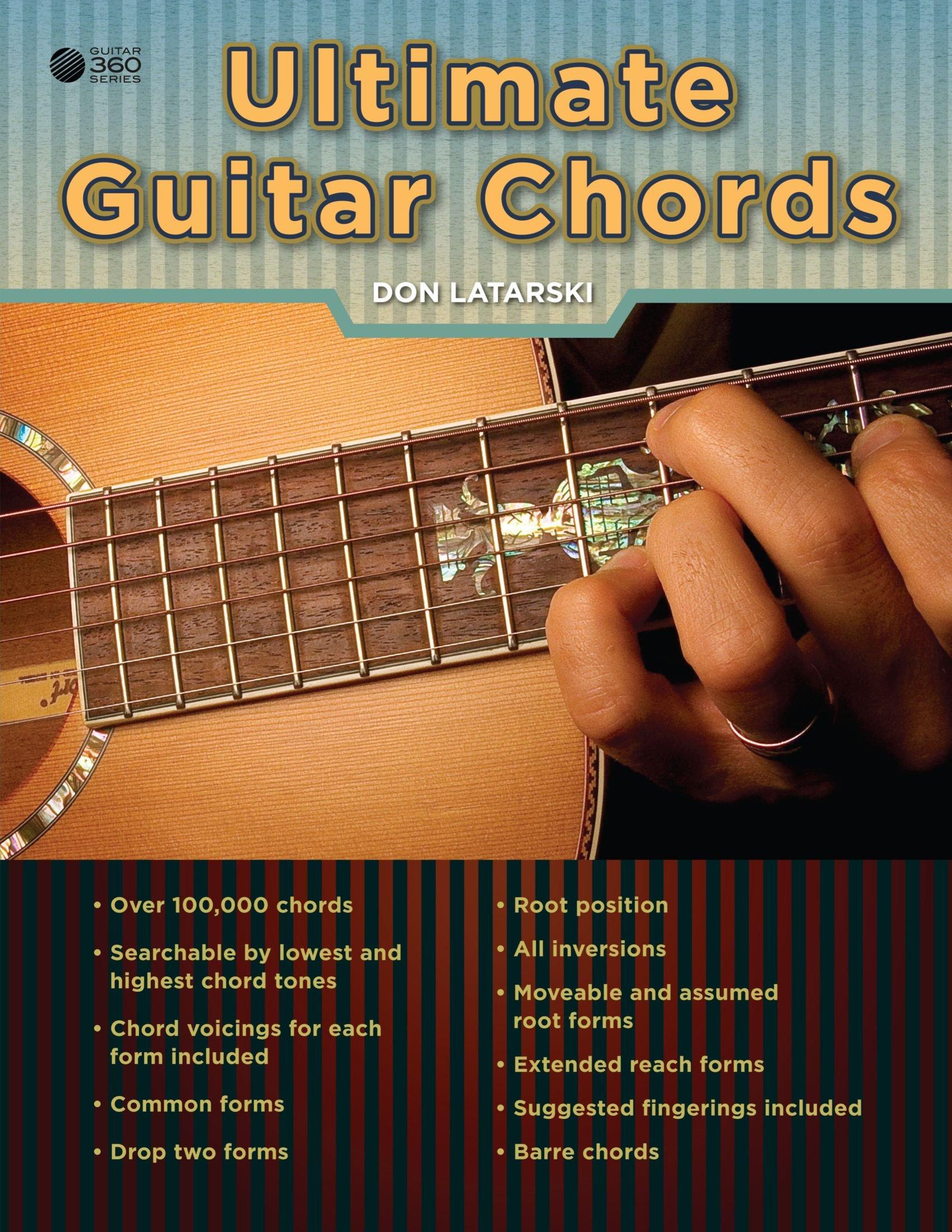 Ultimate Guitar Chords Don Latarski 9780557719136 Amazon Books