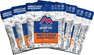 Mountain House Homestyle Chicken Noodle Casserole | Freeze Dried Backpacking & Camping Food | Survival & Emergency Food