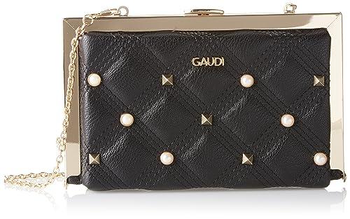 Womens Handbag Linea Aurora Top-Handle Bag Black Black (Black) Gaud vQW6l