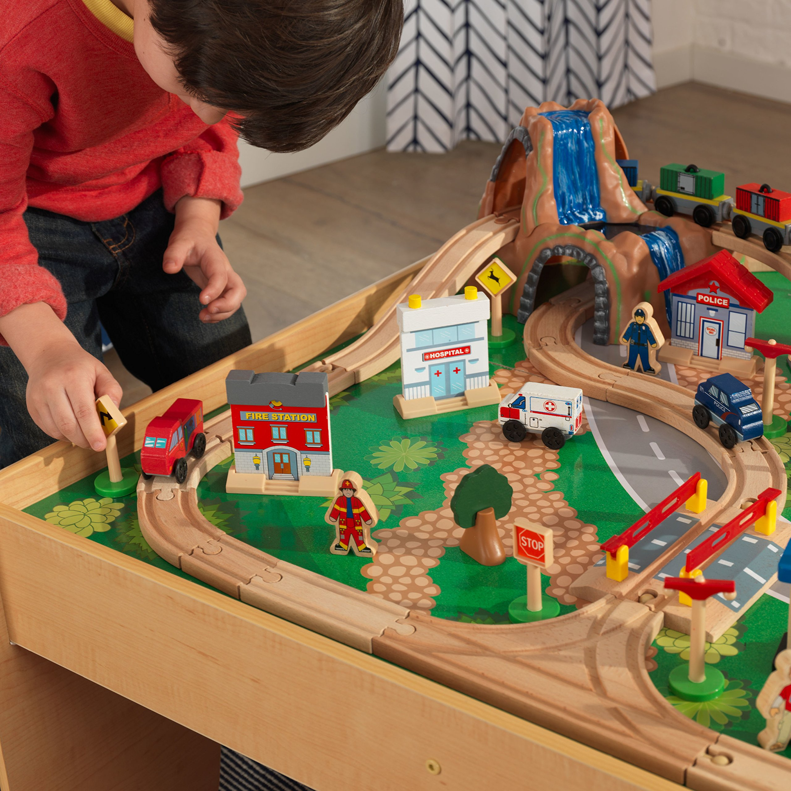KidKraft Waterfall Mountain Train Set and Table by KidKraft (Image #8)