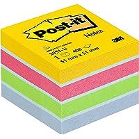 Post-It 2051-U - Papel para notas auto adhesivo (5.1 x 5.1 cm), multicolor