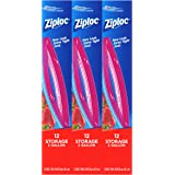 Ziploc 2-Gallon Storage Bags, 36 Count