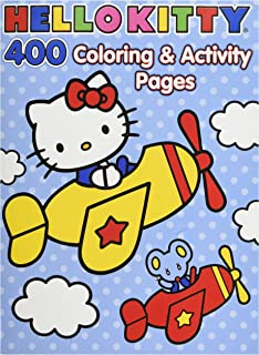 Hello Kitty Coloring Book Jumbo 400 Pages Featuring Classic Characters