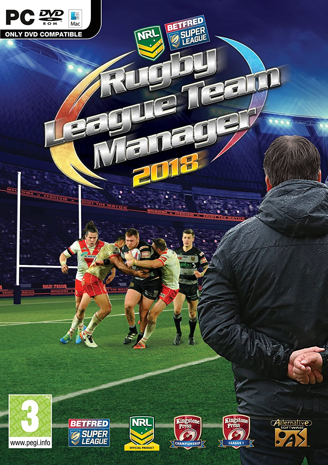 Rugby League Team Manager 2018 Pc Dvd Mac Amazon Co Uk Pc