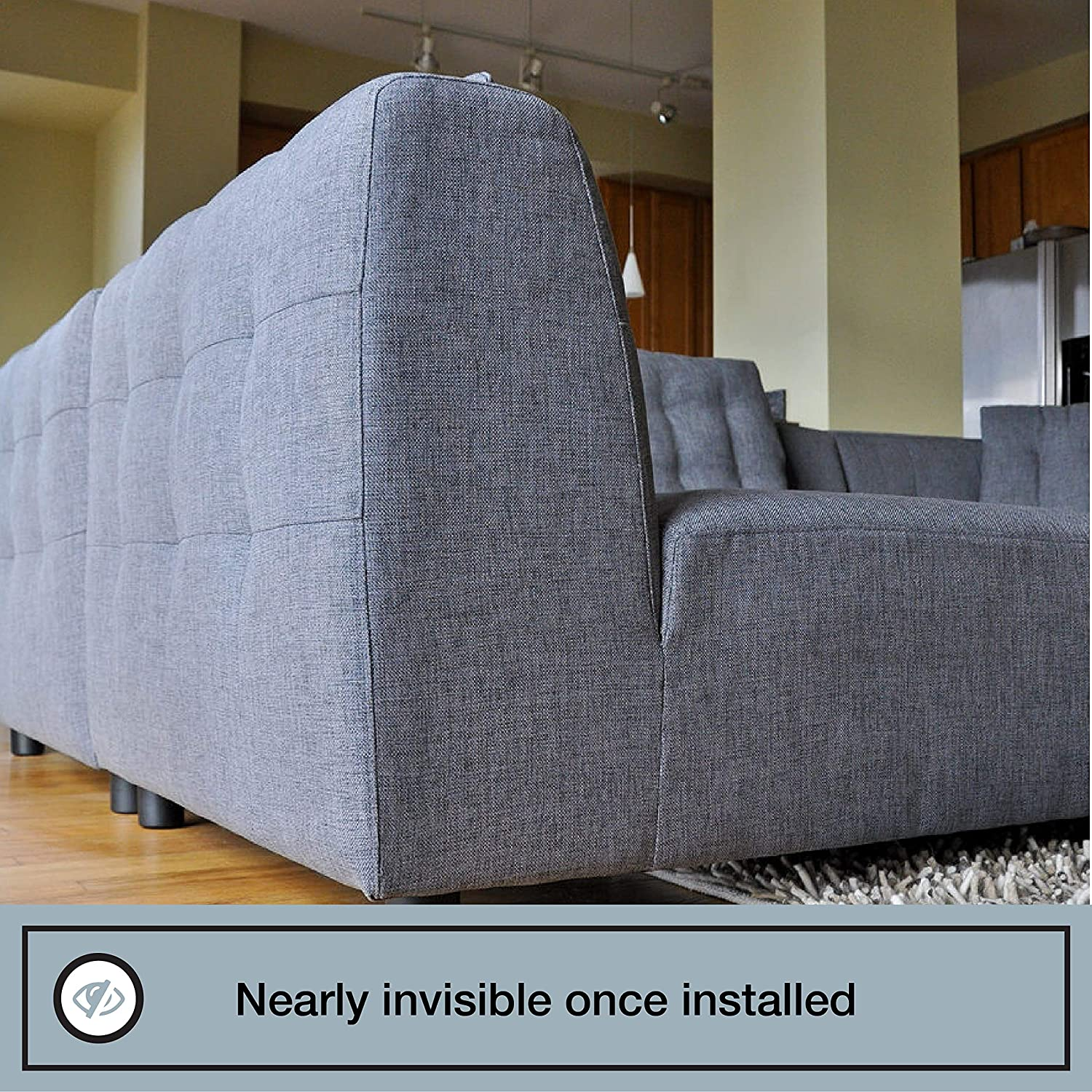 Super Couch Clamp Sectional Connectors For Sliding Sofas Prevent Floor Scratches And Big Gaps In Your Couch With No Tools Or Invasive Install 4 Pack Uwap Interior Chair Design Uwaporg