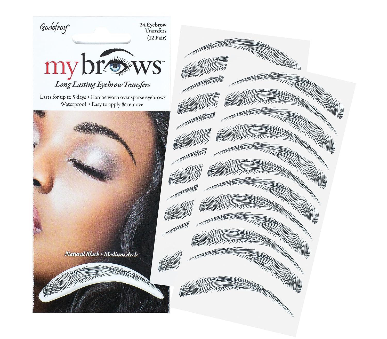 Amazon Godefroy Mybrows Medium Arch Eyebrow Tattoo Medium