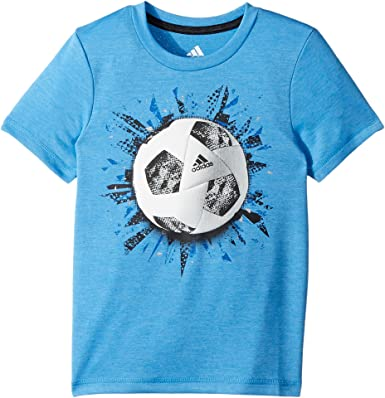 0432a7e2fe adidas Kids Baby Boy's Sports Graphic Tee (Toddler/Little Kids ...