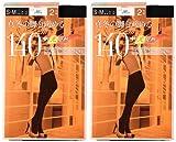 (アツギ)ATSUGI タイツ ATSUGI TIGHTS (アツギタイツ) 140デニール〈2足組2セット〉