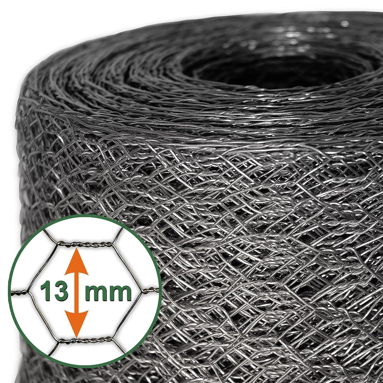 Mammut® Drahtzaun / Sechskant-Geflecht | Maschenweite 13 mm ...