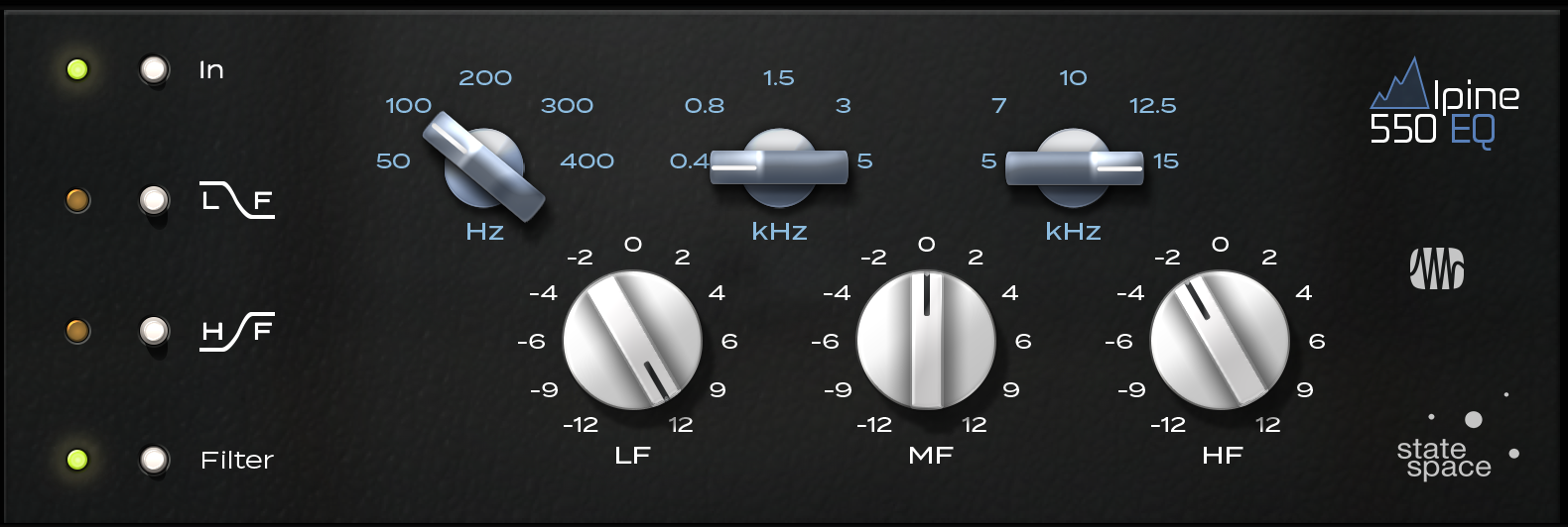 PreSonus Alpine EQ-550 Fat Channel Plug-in [Online Code] - Plug Eq In Vst