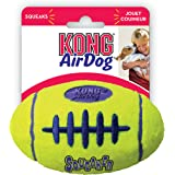 KONG Air Dog Squeaker Football Dog Toy, Medium