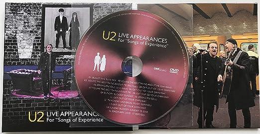 U2 LIVE APPEARANCES 2018 For