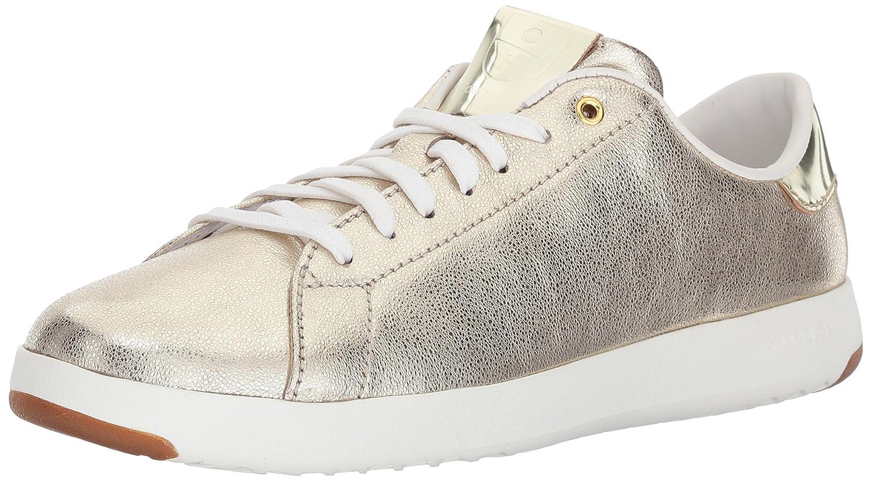 Cole Haan Women's Grandpro Tennis Leather Lace OX Fashion Sneaker B06Y991JW1 7 B(M) US Platino Glitter