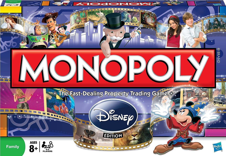 Monopoly Disney Edition by Hasbro (English Manual): Amazon.es: Juguetes y juegos