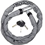 Readaeer Noctilucent Anti-theft Bike Motorcycle Chain Lock Bicycle Cable Locks