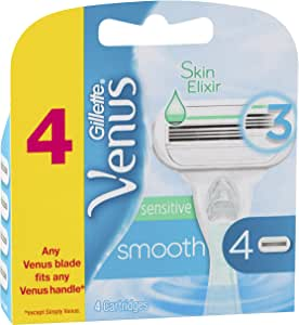 Gillette Venus Gillete Venus Sensitive Smooth 4 Pack