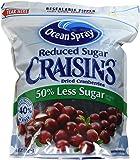 Ocean Spray Reduced Sugar Craisins Dried Cranberries, 43 oz.