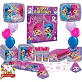 Shimmer and Shine Happy Birthday Deluxe Party Pack Bundle
