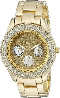 Geneva FMDG022 18mm Alloy Gold Watch Bracelet