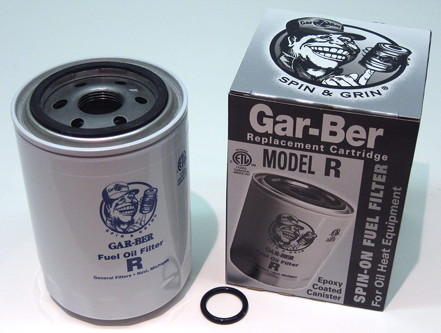 "General Oil 2605 ""R"" Epoxy-Coated Can Replacement Cartridge - Boxed"