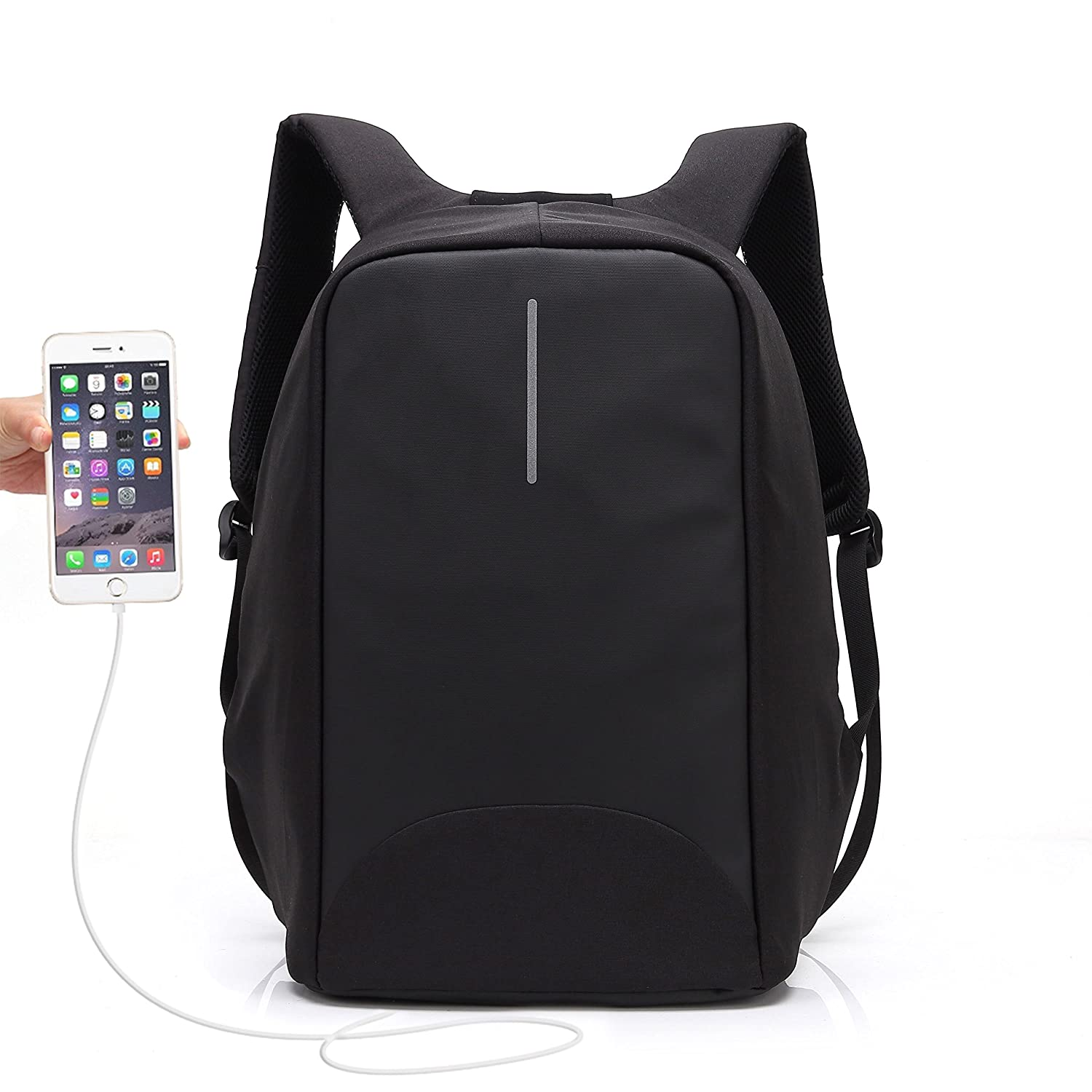 Anti Theft Charging Backpack, UBaymax Security Backpack with USB Charging Port 15.6