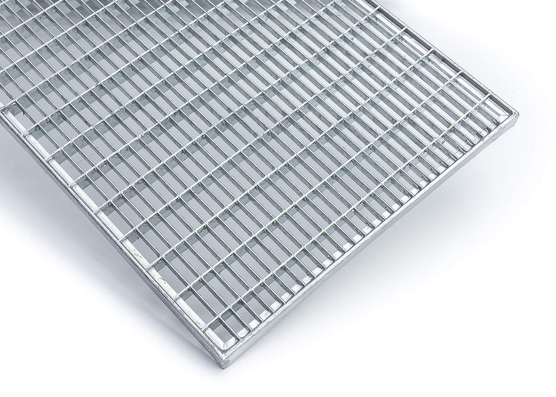 390x590 mm 20 mm hoch K60 Baunorm Gitterrost//verzinkt//MW 30x10
