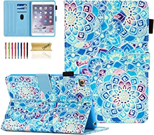 iPad Mini Case, Dteck Slim Fit Smart Premium PU Leather Multiple Viewing Folio Stand Wallet Cover with Auto Wake/Sleep for Apple iPad Mini 2/Mini 3/Mini 4/Mini 5, Shade of Blue