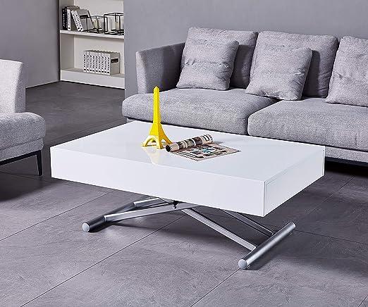 Tavolini Da Salotto Che Si Alzano.Volero Shopping Online Tavolo Trasformabile Meccanismo