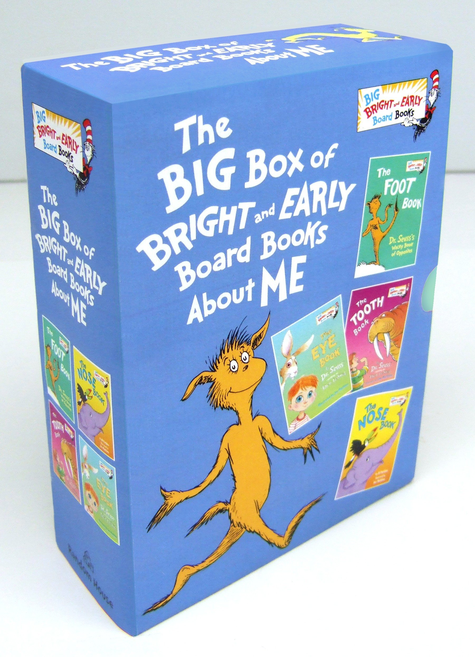 Download The Big Box of Bright and Early Board Books About Me (Big Bright & Early Board Book) pdf
