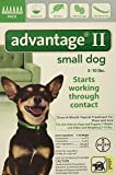Advantage II for Dogs 10 lbs and Under - 6 pack