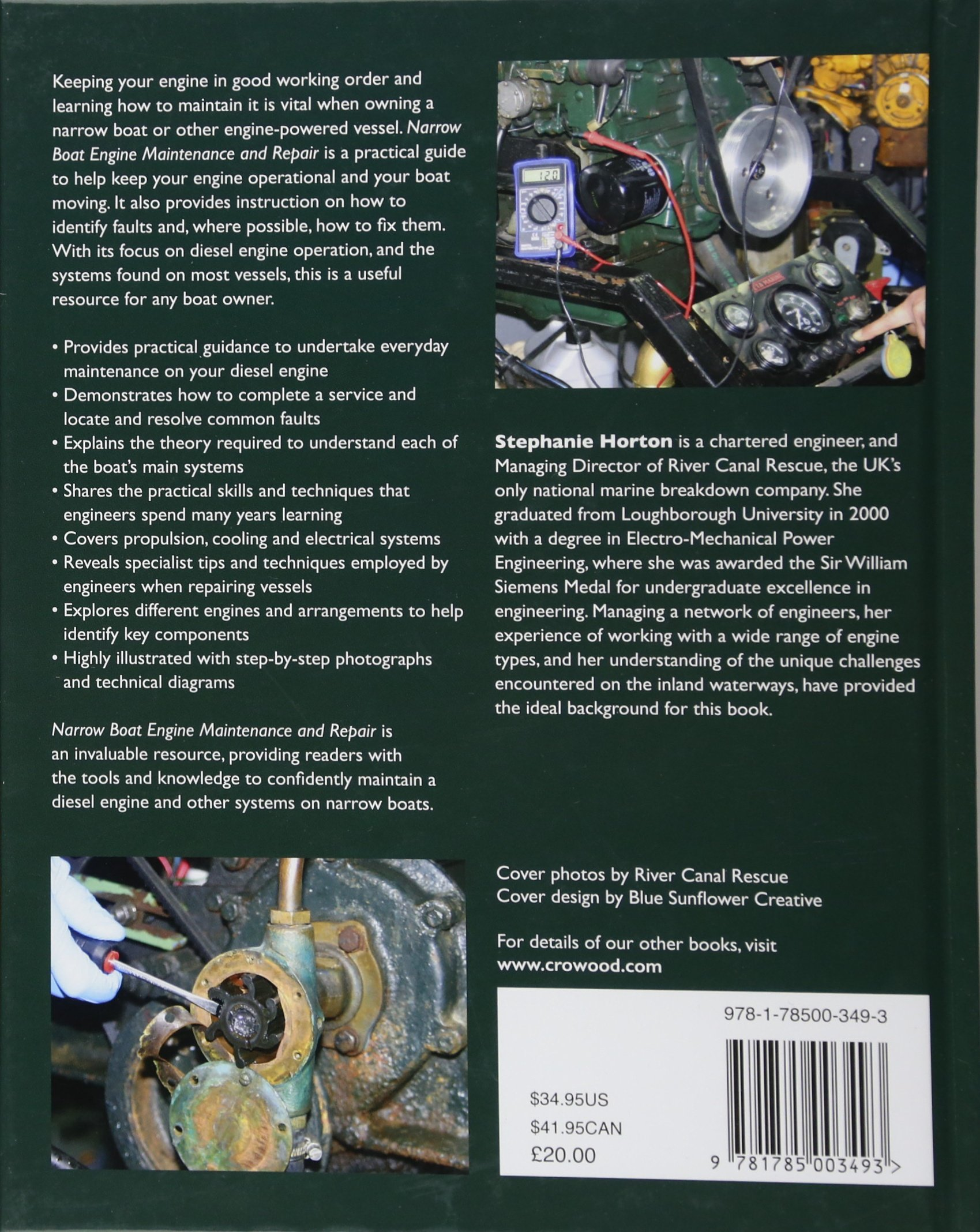 Narrow Boat Engine Maintenance and Repair by The Crowood Press UK