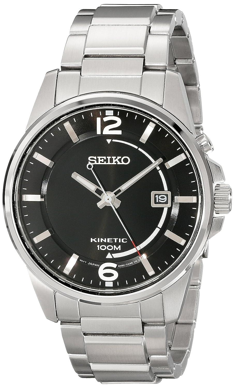 Seiko Kinetic Herren-Armbanduhr Analog Automatik Edelstahl SKA671