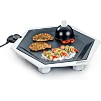 ROMMELSBACHER FG 2204/SE Special Edition - PARTY GRILL SET - 2200 Watt - silbergrau