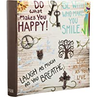 Arpan Large Slip In Memo Photo Album Holds 200 Photos 6'' x 4'' - Life inspirational slogans Photo Album