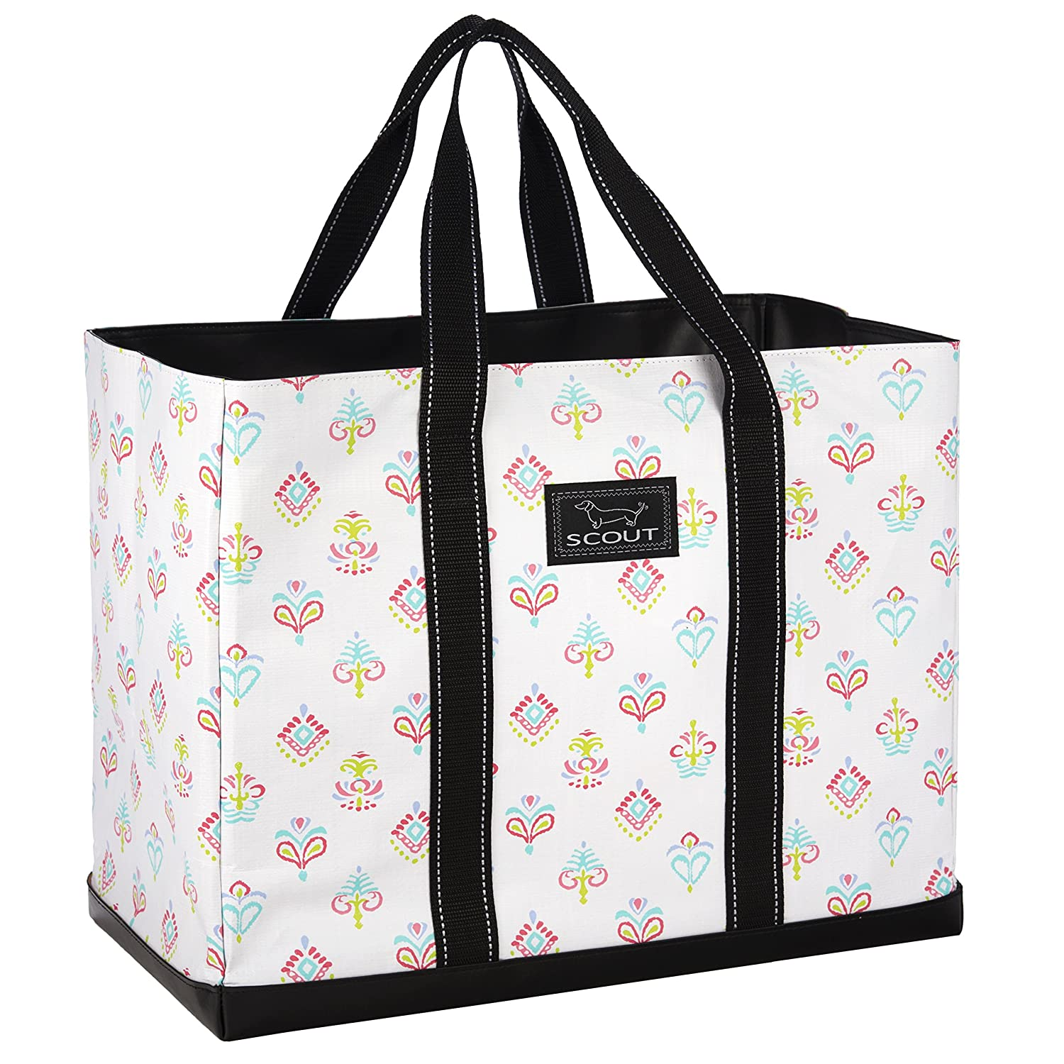 Amazon.com  SCOUT ORIGINAL DEANO Tote Bag, Water Resistant Large Tote Bag  for Women (Multiple Patterns Available) (Carnival Y all)  Shoes 8556d36514