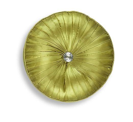 Thomas Frederick Chicago cojín redondo, 30 cm, verde: Amazon ...