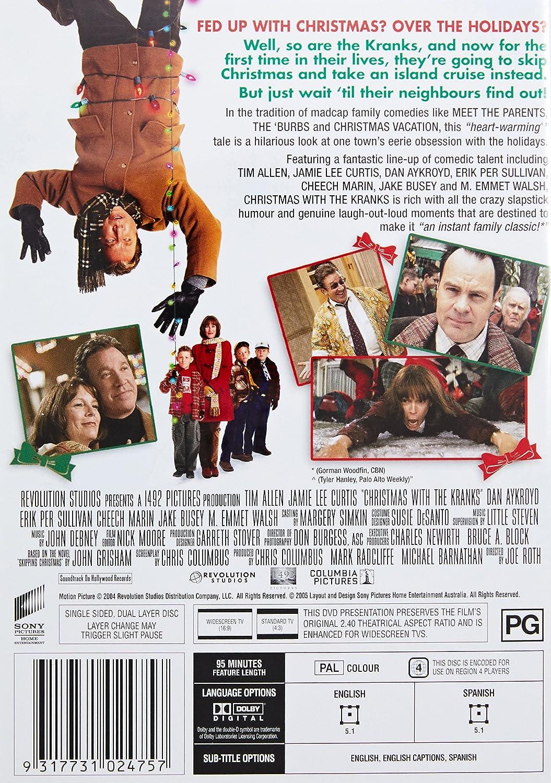 Amazon.com: Christmas With the Kranks DVD (Tim Allen, J.LeeCurtis ...