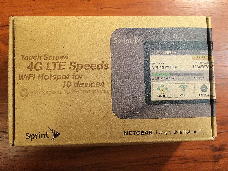 amazon com netgear sprint zing mobile wifi hotspot ntgr771smh