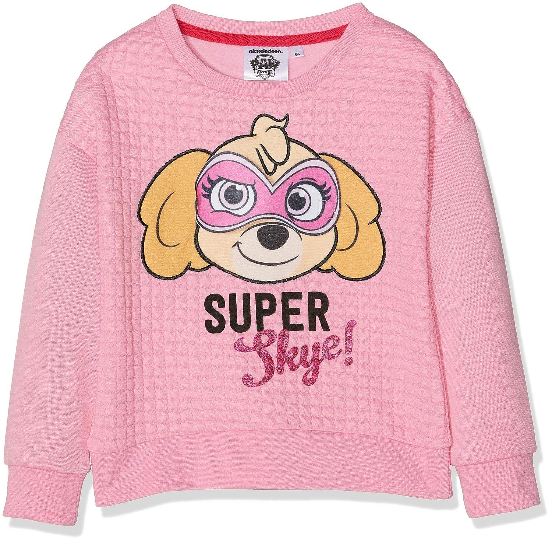Nickelodeon Girl's Paw Patrol Super Hero Sweatshirt RH1112