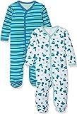 Care Baby-Jungen Schlafstrampler, 2er Pack
