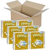 Kleenex Multicare Facial Tissues, 80 Tissues per Box, 6 Box
