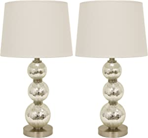 Décor Therapy MP1063 Table Lamp, Mercury Silver